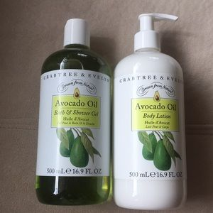 New Crabtree & Evelyn Avocado Oil Set